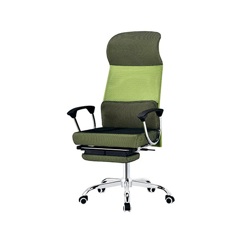 Wholesale double colored genuine mesh executive chair(YF-A334-Green)