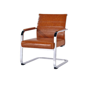 Wholesale Mid-Back leather office visitor chair(YF-F01 PU)