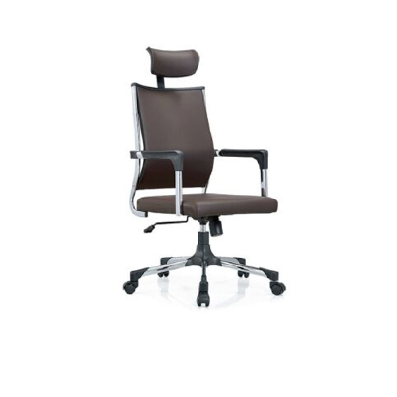Wholesale High Back PU Leather Office Executive Chair with armrest(YF-116D-PU)