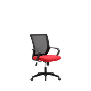 Wholesale mesh office chair with PP back frame and armrest, nylon base(YF-5575)