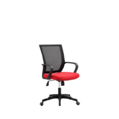 Wholesale mesh office chair with PP back frame and armrest, nylon base(YF-5575)