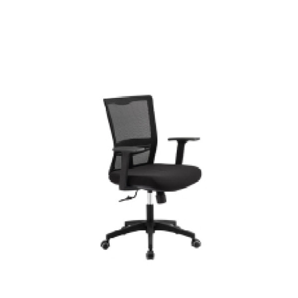 Wholesale Middle Back Mesh Office Chair With Nylon back frame and PP armrest(YF-5548)