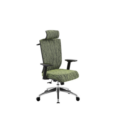 Wholesale Office task chair with PP back frame, chrome base and armrest(5603A)