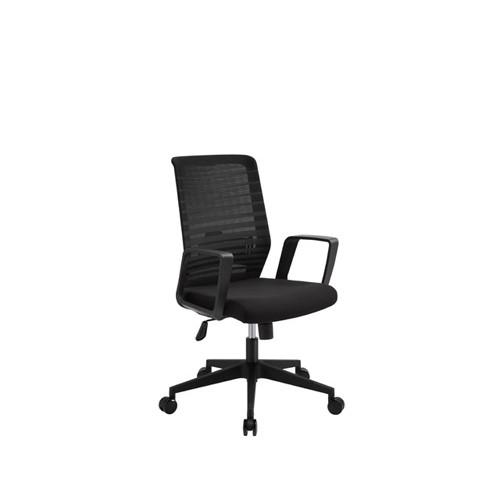Wholesale Office Mesh Chair with PP back frame and armrest, nylon base(YF-5604)