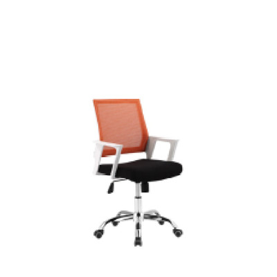 Wholesale Mesh office chair with PP back frame and armrest, nylon base(YF-5606)