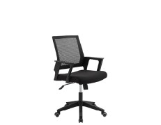 Wholesale Mesh office chair with PP back frame and armrest, nylon base(YF-5606)