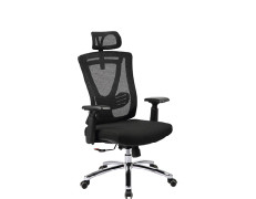 Ergonomic office mesh chair with armrest and headrest, height adjustable armrest(YF-5607A)