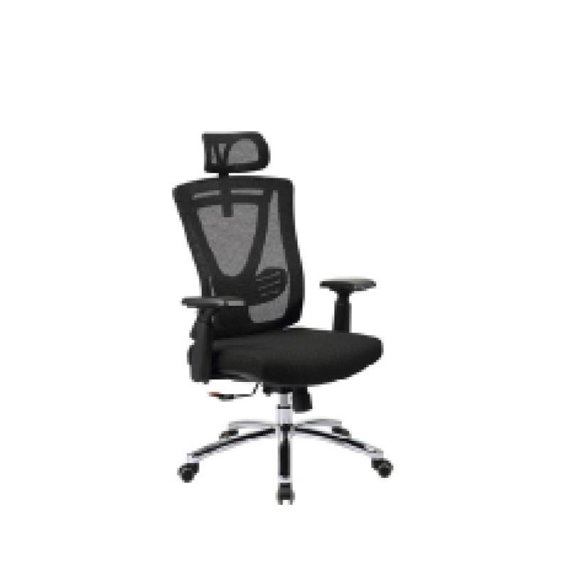 Ergonomic office mesh chair with armrest and headrest, height adjustable armrest(YF-5607A)