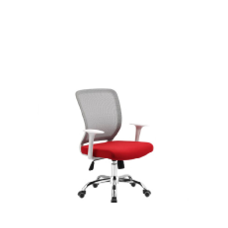 Wholesale mesh office chair with PP back frame and armrest, chrome base(YF-5608-1)
