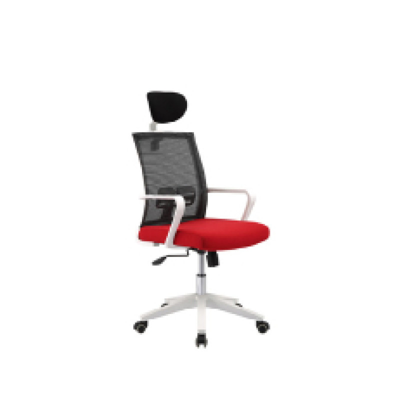 Mesh office chair with PP back frame and armrest, PP base,butterfly mechanism(YF-5609A-1)