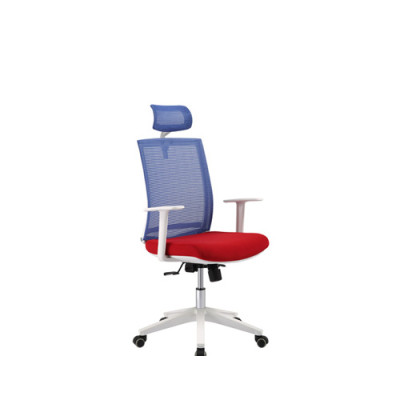 Wholesale high back Mesh office chair with PP back frame and armrest, PP base(YF-5590A-1)