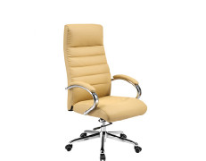 Wholesale PU Ergonomic Office Chair, Chrome Armrest and Base(YF-8599)