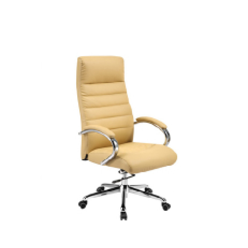 Wholesale PU Ergonomic Office Chair, Chrome Armrest and Base(YF-8599)
