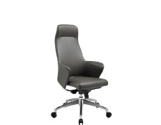 YingFung Imitated Leather Office Swivel Chair with high back and armrest.(YF-9602)
