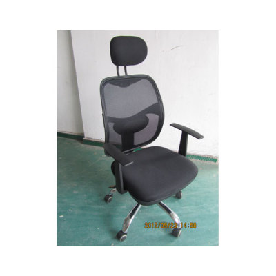 Wholesale high-back mesh office chair with PP armrests and Aluminum base(YF- A52)