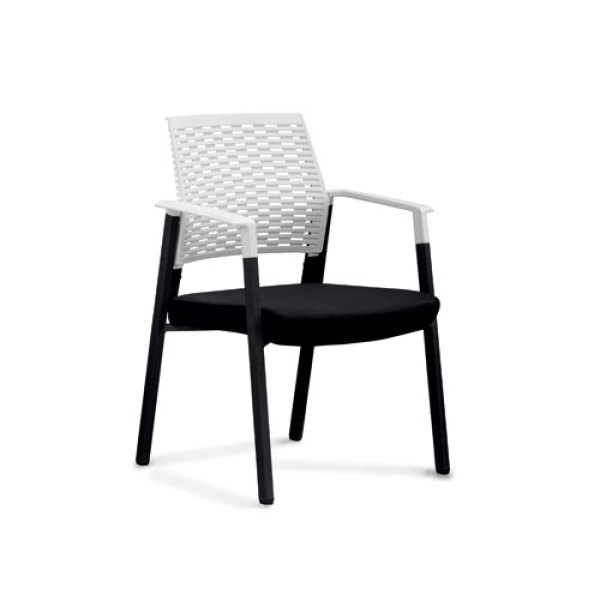 Wholesale Mesh office task chair with plastic frame and chrome base(YF-2610)