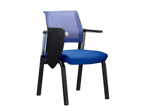 Wholesale Meeting Training Mesh Chair Conference Folding Writing Chair With Writing Tablet(YF-2625WB)