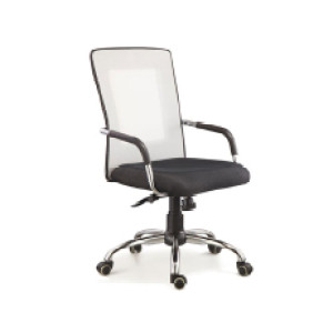 Wholesale Office Task Chair with PU Caster/Chrome Feet(YF-5069-1)