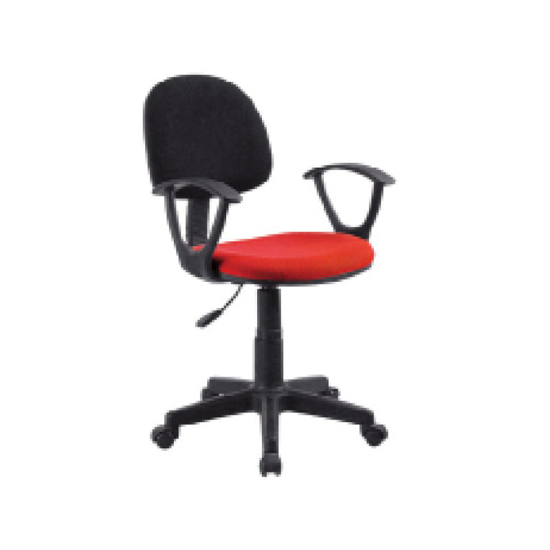 Wholesale mesh office task chair with Nylon base and armrests(YF-D008)