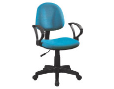 Wholesale mesh office task chair with Nylon base and armrests(YF-D014)