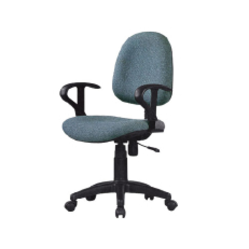 Wholesale mesh office task chair with Nylon base and armrests(YF-D017)