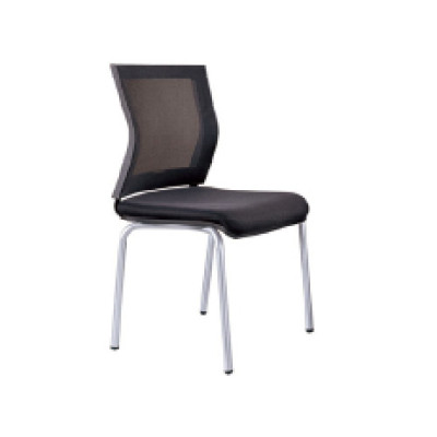 Wholesale Office Stacking Chair With Mesh Seat And Back, Chrome Base(YF-2001-1)