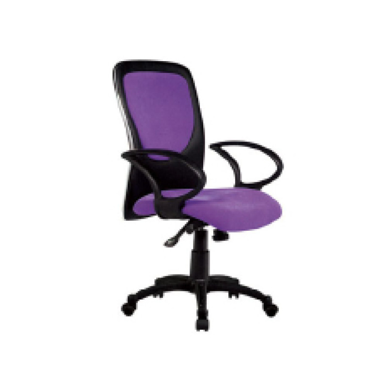 Wholesale Double colored geniun mesh swivel chair(YF-3035)