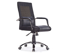 Wholesale Office Task Chair, PU Caster/Chrome Feet(YF-3100a)