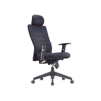Wholesale Mesh Office Chair, Made of Pu Caster, Nylon Feet and Adjustable PU T-armrest(YF-5055A)