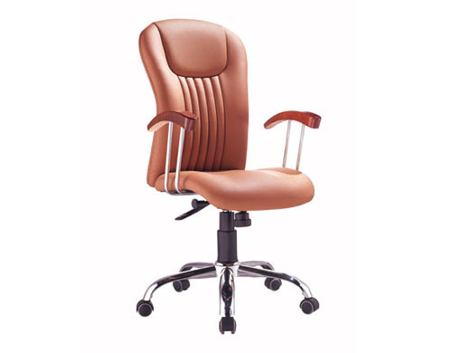Wholesale geniun leather swivel chair with