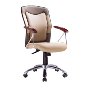 Wholesale Leather Office Chair With Armrests(YF-003)