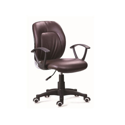 Wholesale leather swivel chair with armrests(YF-051)