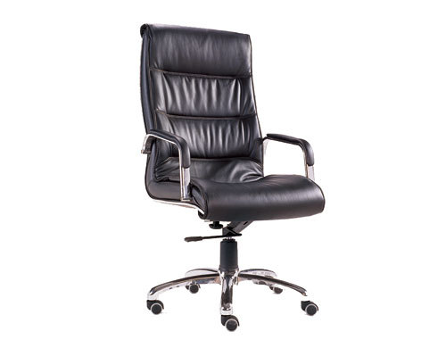 Wholesale Leather Swivel Chair With Armrests and Aluminum alloy Frame(YF-206A)