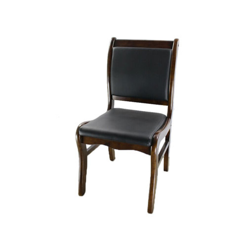 Wholesale modern black leather visitor chair(YF-204)