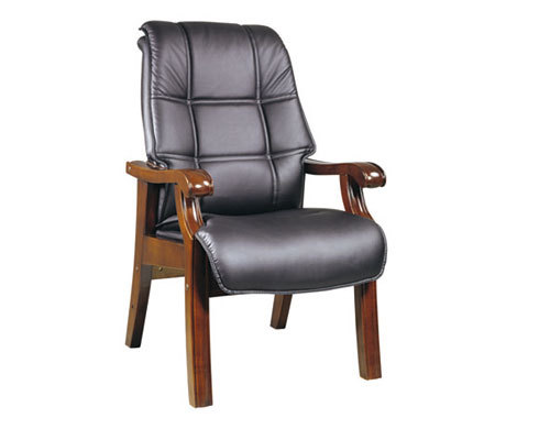 Wholesale Wooden Four Leg Office Visitor Chair(YF-222)