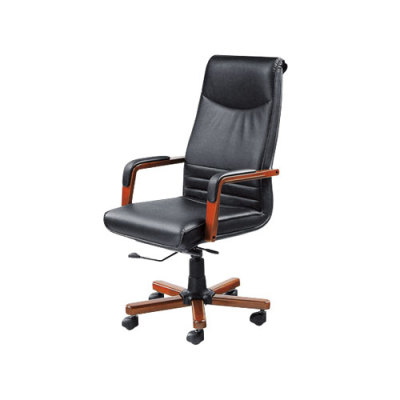 High Back Office Leather Task Chair with Swivel Castor Base(YF-226A)
