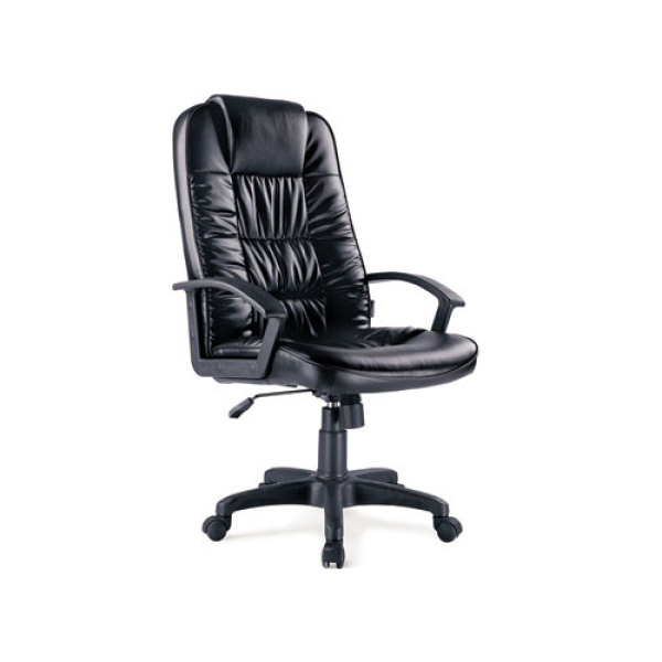 Leather Office Swivel Executive Chair with adjustable height and headrest (YF-221A)