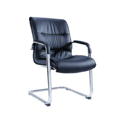 Yingfung Visitor Chair with PU Leather and Chrome Base (YF-2021)