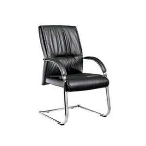 Yingfung PU Leather Visitor Chair with chrome base (YF-2202)