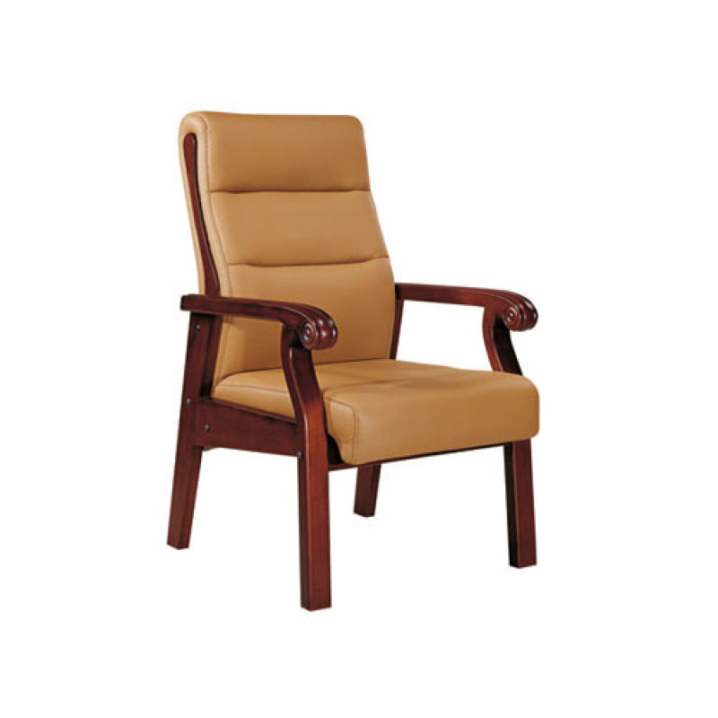 Wholesale Leather Office Conference Chair With Wood Frame(YF-2277)