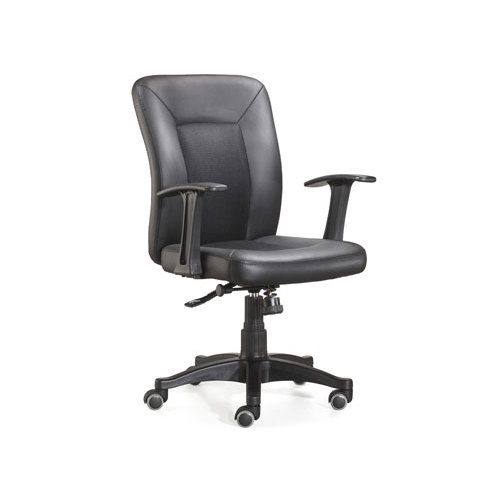 Wholesale Middle Back PU Task Chair With Nylon Aluminum And Base(YF-3802-2)
