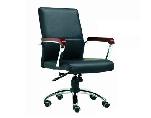 Mid-Back PU Leather Office Task Swivel Chair(YF-3090)