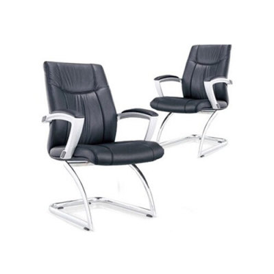 Wholesale PU&Leather Office Conference Chair With Chrome Metal Frame(YF-6125)
