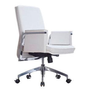 Wholesale White leather executive chair high back lift office chair(YF-8315)