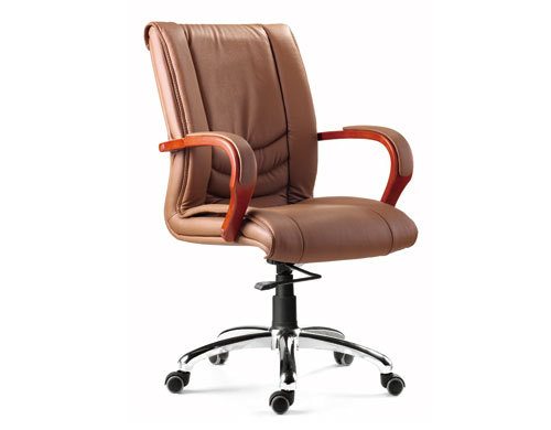 Mid-Back Leather Office Executive Swivel Chair(YF-8320)