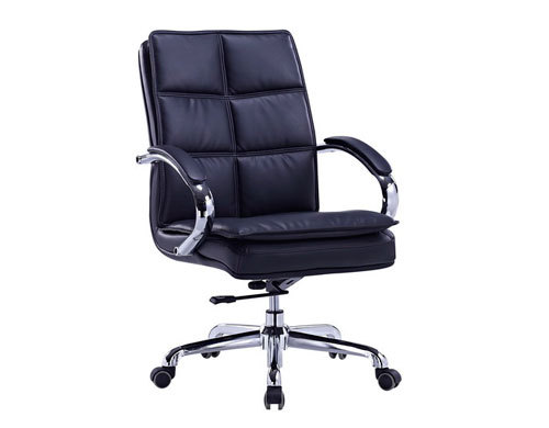 Mid-back PU Leather Office Executive Swivel Chair (YF-8326)