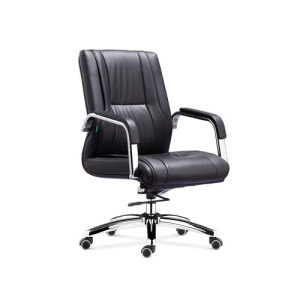Wholesale office task chair with chrome base and chrome armrest(YF-8512)