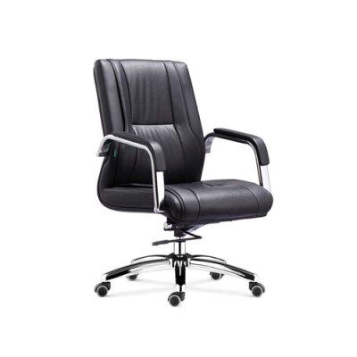 Wholesale office task chair with chrome base and chrome armrest(YF-8512)