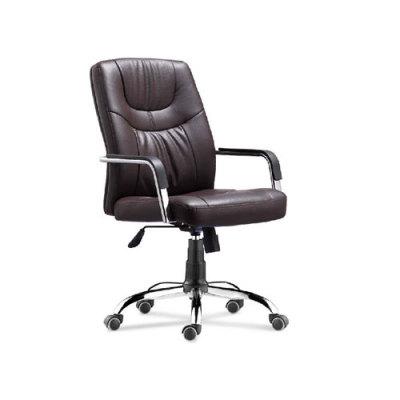 Wholesale Office task chair with PU wheel, chrome base, chrome armrest(YF-8516)