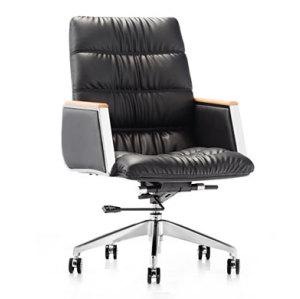 Wholesale executive middle back PU leather swivel office chair(YF-8536)